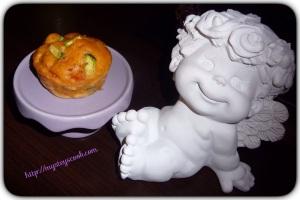 muffins aux legumes et poulet 1
