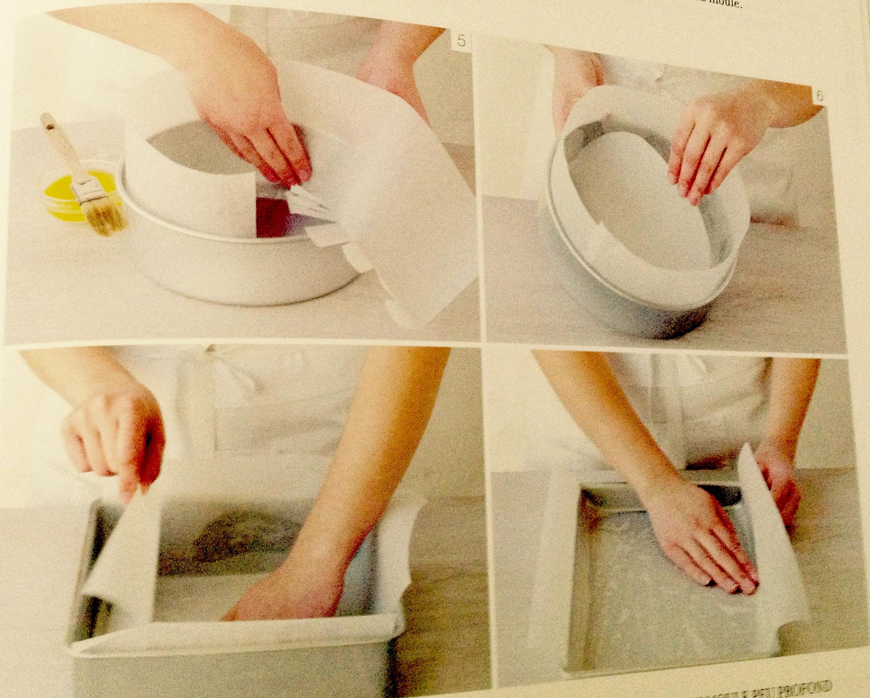 technique de base chemiser un moule de papier sulfuris un r gal pour les papilles et les. Black Bedroom Furniture Sets. Home Design Ideas
